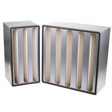 H10 HEPA filters (steel case, aluminium spacers)